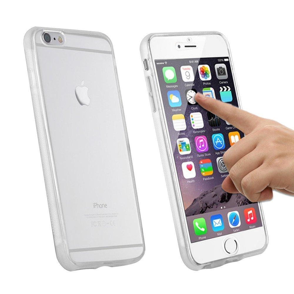 coque avant arrière iphone 6 silicone