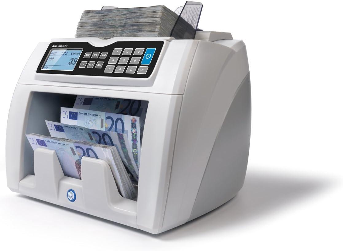Safescan 112-0390 Automatischer Banknotenz/ähler mit UV Falschgelderkennung grau