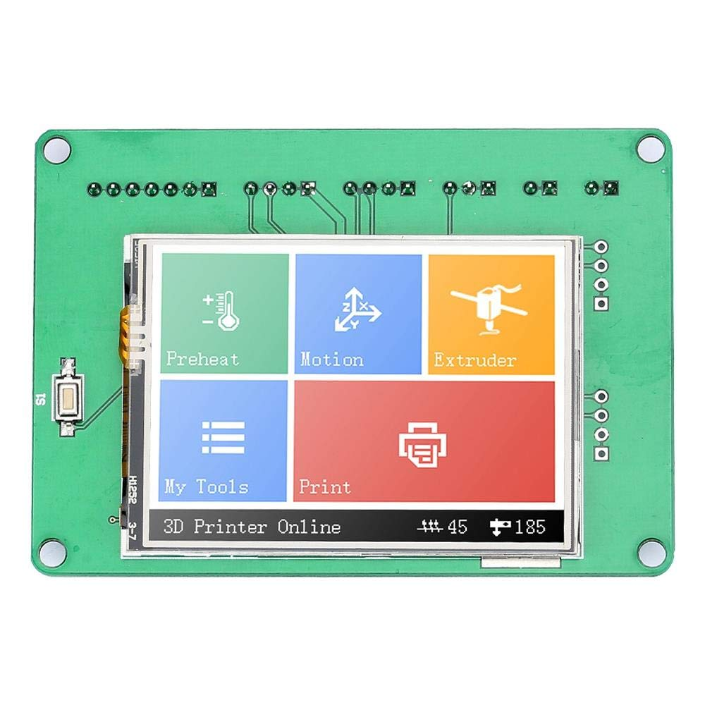 Value-5-Star - 3D Printer Accessories 2.4 Inch Display Extended Card Universal Board 3D Printer Press Screen Full Color High Speed by Value-5-Star (Image #4)