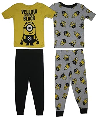 3ac806c422b9 Amazon.com  Despicable Me Minions Yellow Is The New Black Boy s 4 ...