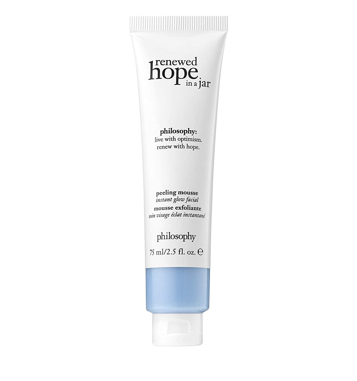 philosophy renewed hope peeling mousse 2.5 oz