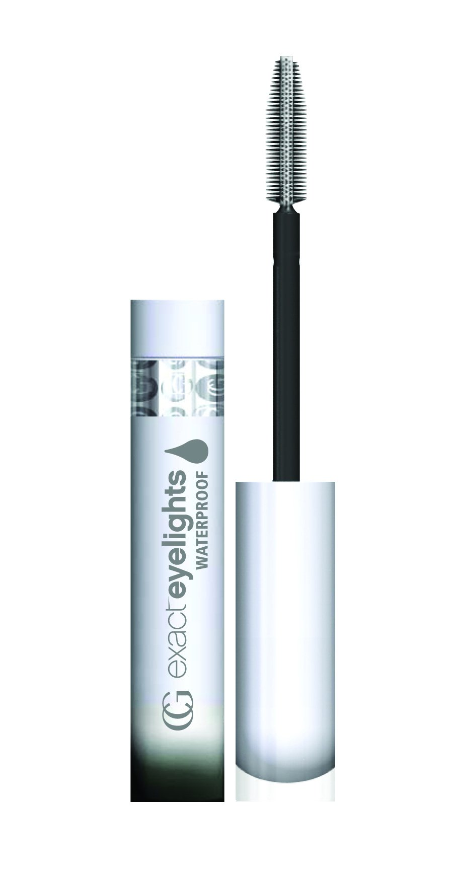 COVERGIRL Exact Eyelights Waterproof Mascara Black Pearl for Brown Eyes 730, .24 oz