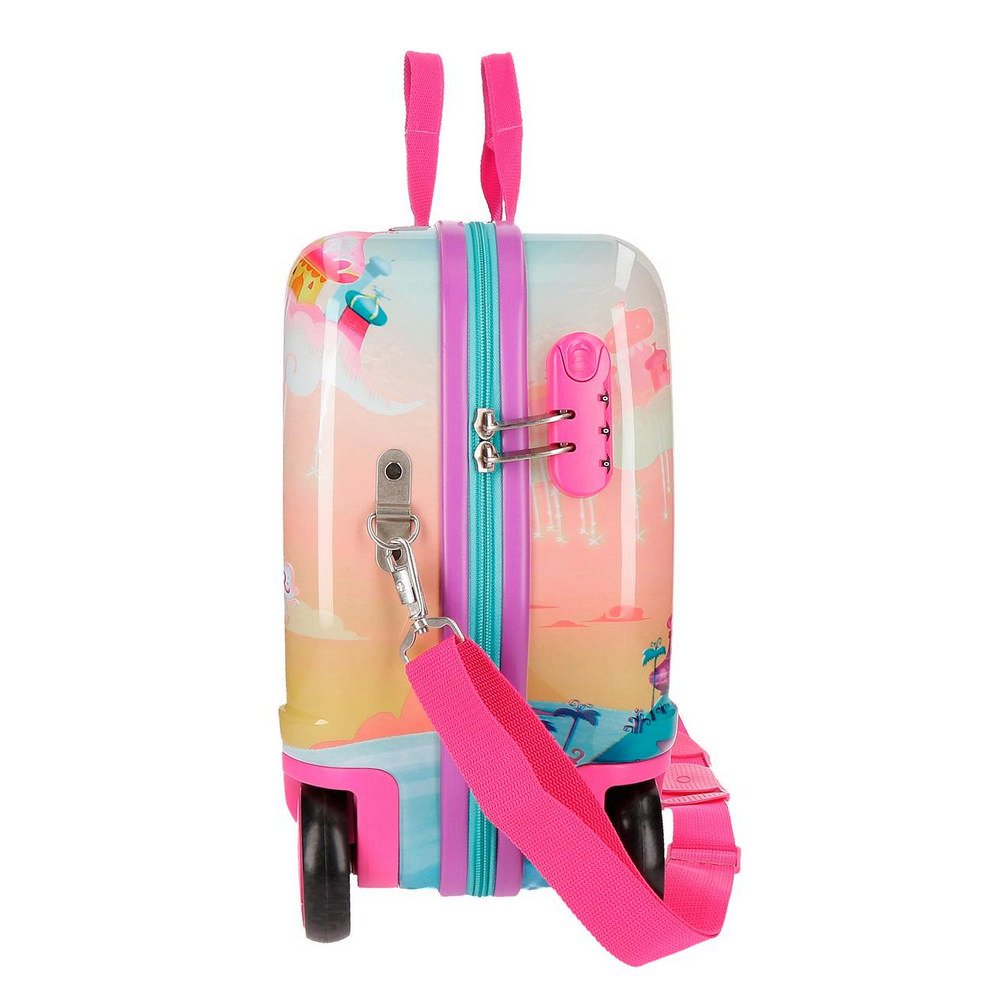 Shimmer and Shine Shiny Childrens Luggage Multicolor 50 cm Multicolour 34 liters