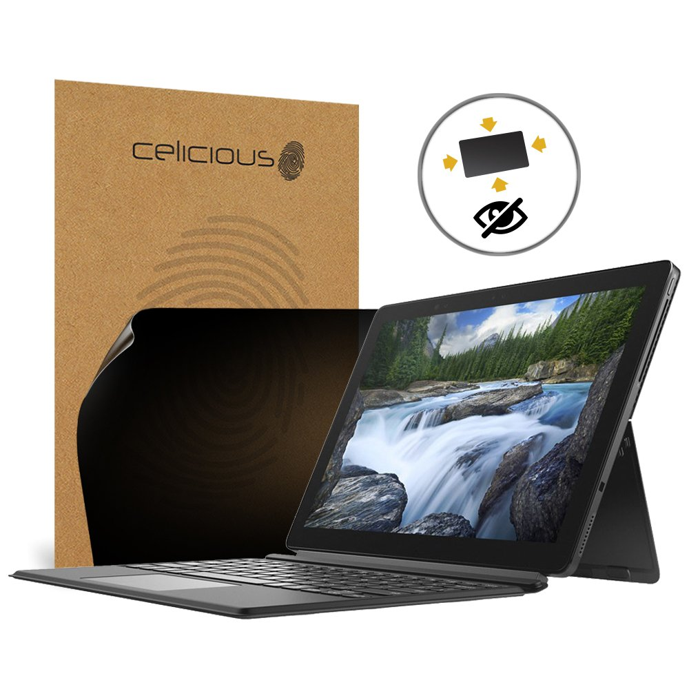 Celicious Privacy Plus 4-Way Anti-Spy Filter Screen Protector Film Compatible with Dell Latitude 12 5290 (Touch)