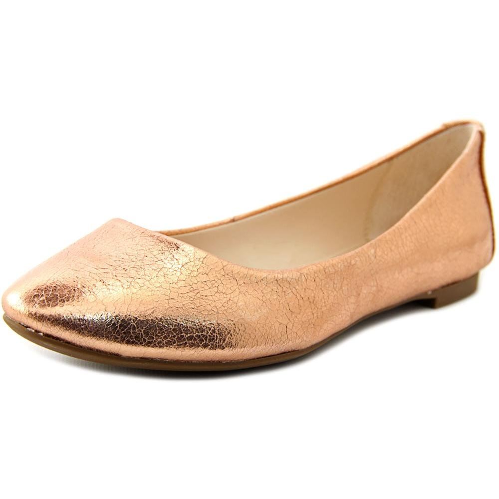 Alfani Womens Gessey Almond Toe Slide Flats B01KW32LJM 7 B(M) US|Rose Gold