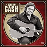 Johnny Cash 2019 12 x 12 Inch Monthly Square Wall Calendar by Merch Traffic, Music Pop Country Singer Songwriter Celebrity