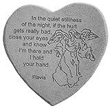 Kay Berry 8803 Medium Heart-in the Quiet Stillness, Multicolor