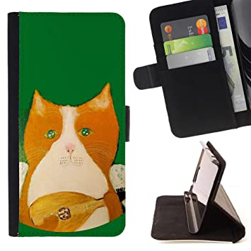 Amazon.com: Tikcase / Slim PU Leather Wallet Credit Card ...