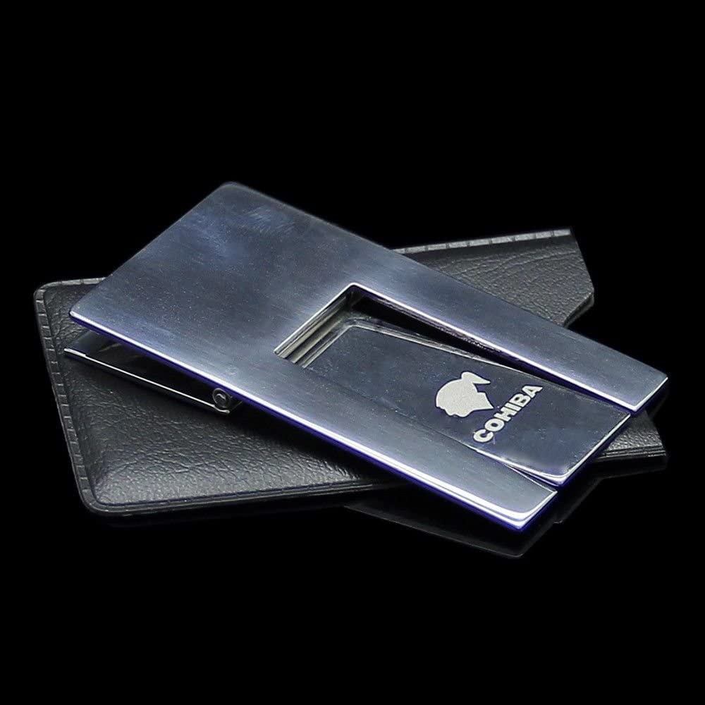 COHIBA Stainless Steel Foldable Cigar Stand Ashtray Holder w//Pouch