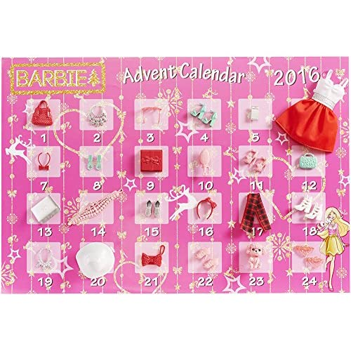 Calendrier Avent Barbie.Barbie Dmm61 Calendrier De L Avent 6egul0509863 43 24