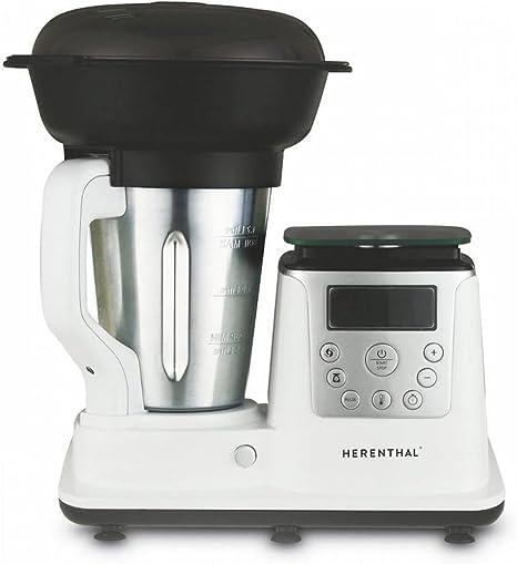 Robot de cocina Multi Función Thermo Cooker 13 programas 1350 W herenthal Mod ht-tc1350: Amazon.es: Hogar