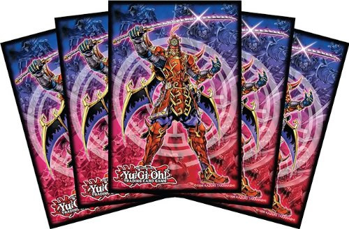 Konami Official Card Supplies YUGIOH Card Sleeves Legendary Six Samurai 50 Count