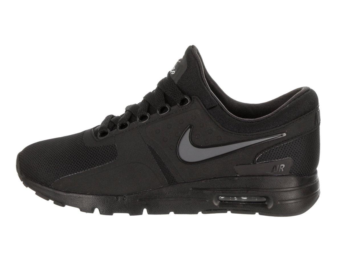 Nike Women's Air Max Zero Black/Black/Dark/Grey/White Running Shoe 6.5 Women US by NIKE (Image #2)
