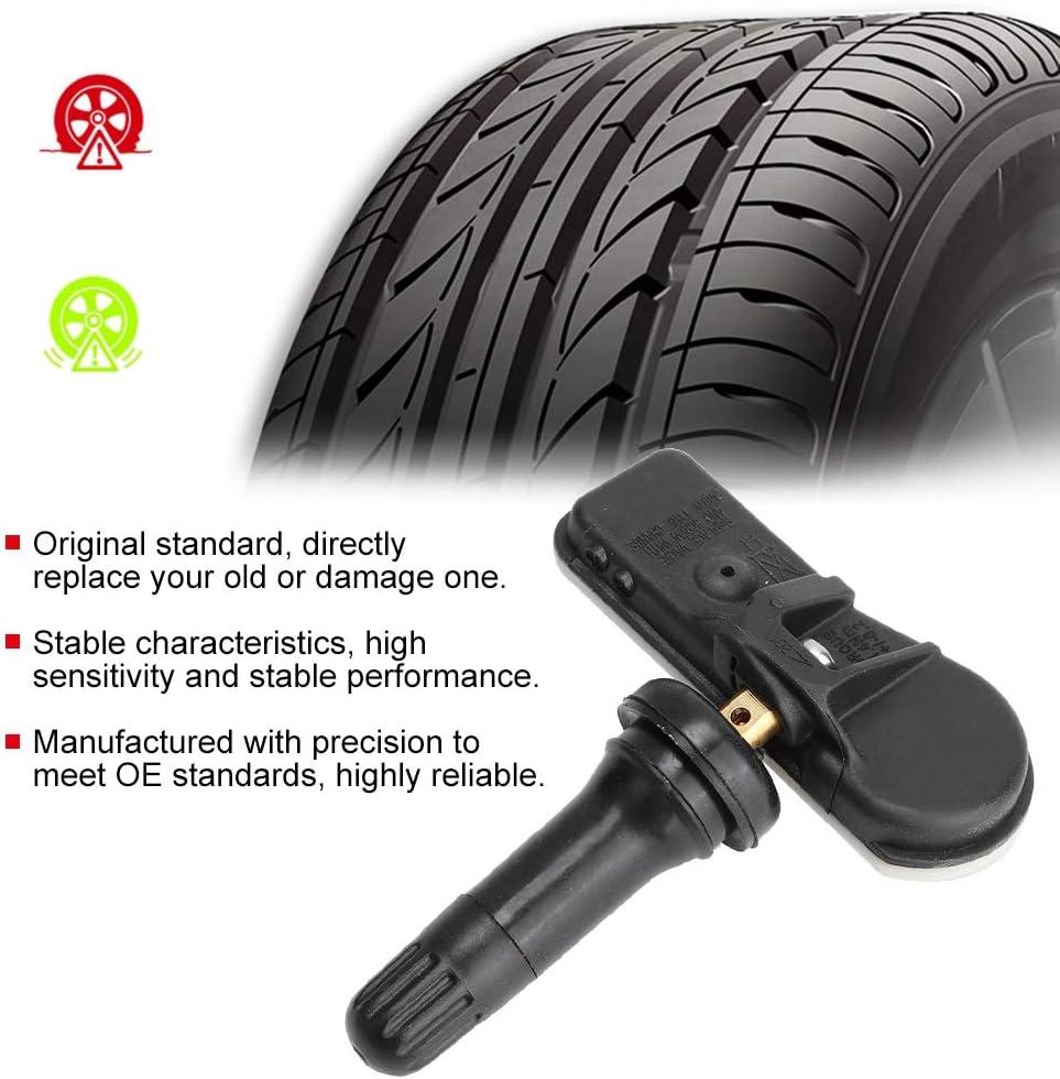 4PCS voiture de qualit/é TPMS Capteur de surveillance de pression des pneus 9802003680 9811536380 Fit pour 508 Capteur de pression des pneus