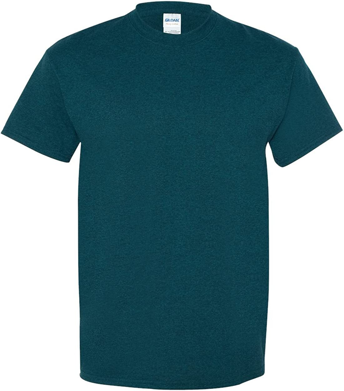 Gildan Mens Heavy Cotton 100% Cotton T-Shirt, Midnight