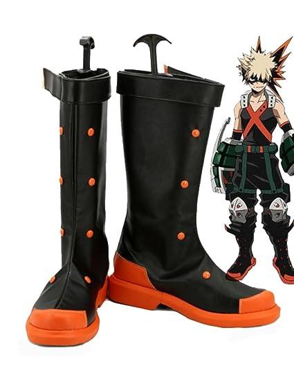 My Hero Academia Katsuki Bakugo Cosplay Shoes Boots Custom Made