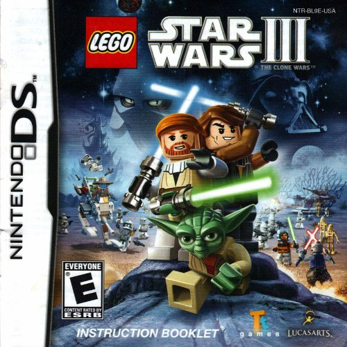 Star Wars Legos Instructions (Lego Star Wars III DS Instruction Booklet (Nintendo DS Manual Only) (Nintendo DS Manual))