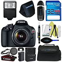 Canon EOS Rebel T5 DSLR Camera with 18-55mm Lens + Pixi-Basic Accessory Bundle