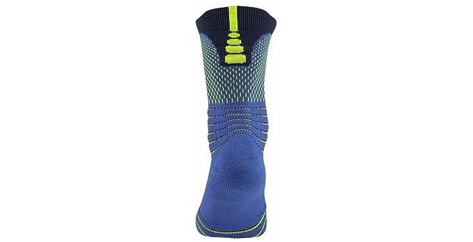 Nike U NK ELT Versa Crew Rio Calcetines, Hombre, Azul (Game Royal/Obsidian/Volt), S: Amazon.es: Deportes y aire libre
