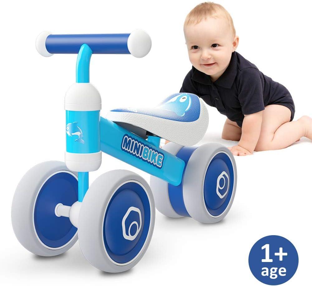 XIAPIA Bicicleta sin Pedales para Niños Bicicleta Bebe 1 Año ...