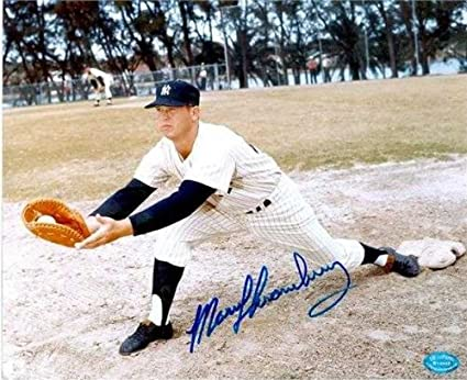 Amazon com: Marv Throneberry autographed 8x10 Photo (New