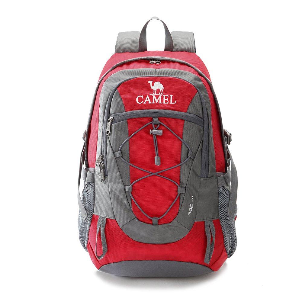 Camel Waterproof Hiking Backpack Women Men Lightweight Daypack Travel Outdoor Camping Trekking (30L, Black) A5W3C3135HE0-CLCA-F1