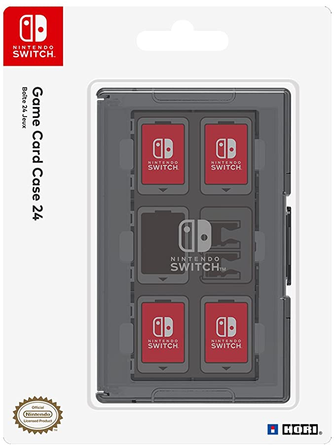 HORI - Estuche de juegos negro (Nintendo Switch): Amazon.es ...