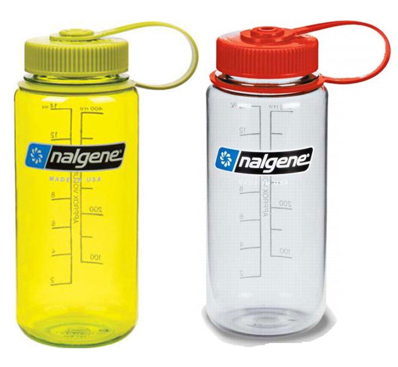 Nalgene Unisex 16oz Wide Mouth Bottle Red Sports Outdoors Lightweight