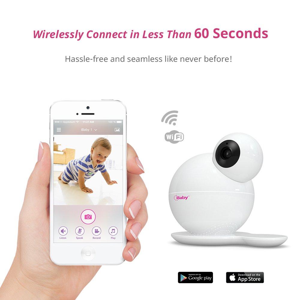 Amazon Com Ibaby Wi Fi Wireless Digital Baby Video Camera With
