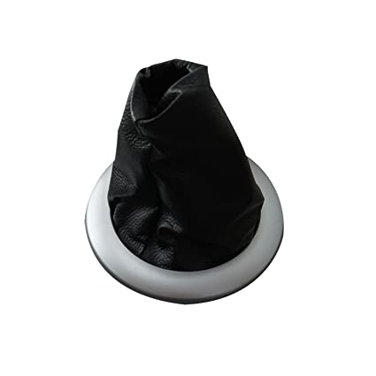 Amazon.com: Bross BSP549 Gear Shift Stick Boot Black Chrome 8200454976 For Renault Megane 2: Automotive