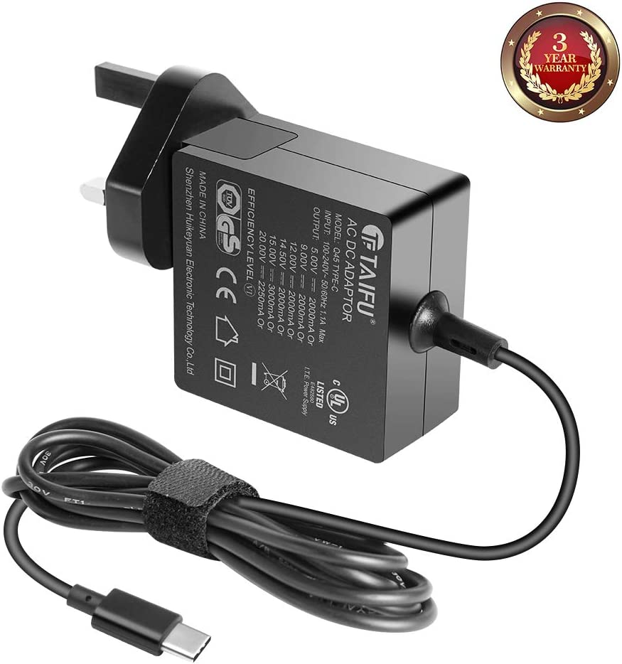 TAIFU 45W AC Adapter Laptop Charger for
