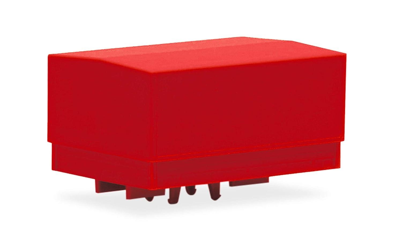 2 St/ück rot Zubeh/ör Ballastpritschen gro/ß f/ür Schwerlastzugmaschine, Herpa 053877-002 zum Basteln und Sammeln