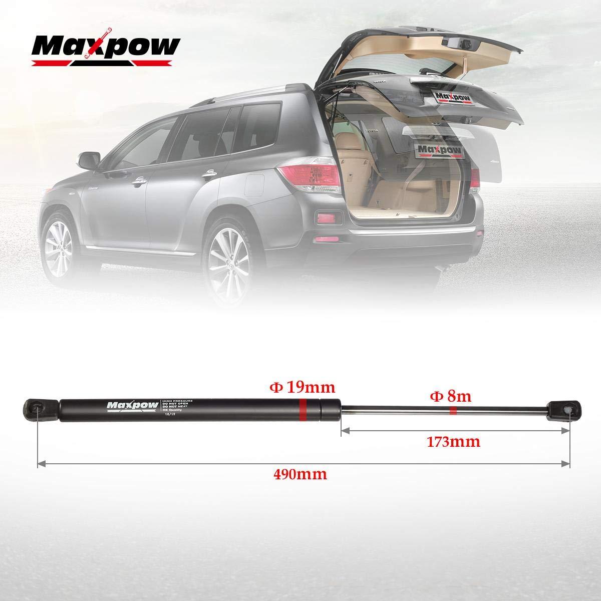 6Y0827550A 6Y0827550C Maxpow 2X Molle A Gas Cofano Posteriore 600 N 440mm