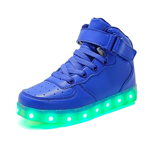 Rojeam Unisexo Adulto Altos LED Shoes Zapatos Deportivos USB Charging Aire Libre Athletics Casual Parejas Zapatos Sneaker: Amazon.es: Zapatos y complementos