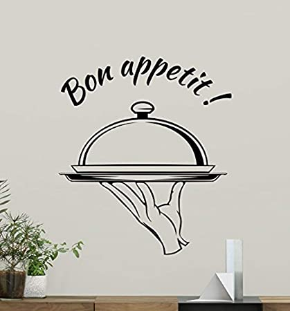 Amazon.com: Bon Appetit Wall Decal Kitchen Wall Decals ...
