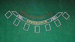 TMG Complete Professional 6 Deck Blackjack Set - Includes 100 Bonus Poker Chips!