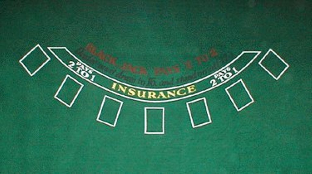 Deluxe 36 X 72 Inch Blackjack Felt Table Layout - Comes with Free Deck of Cards!