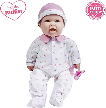 For Children 2 Years Or Olde JC Toys La Baby 20-inch Soft Body Pink Play Doll