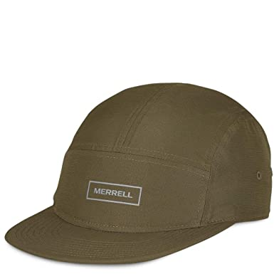 e6f7f1b47c9 Image Unavailable. Image not available for. Color  Merrell Packable Performance  5 Panel Hat Men s ...