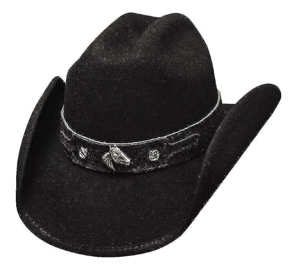 Montecarlo Bullhide CHILDS Hats HORSING AROUND Wool Western Cowboy Hat at  Amazon Men s Clothing store  f3922f29b042