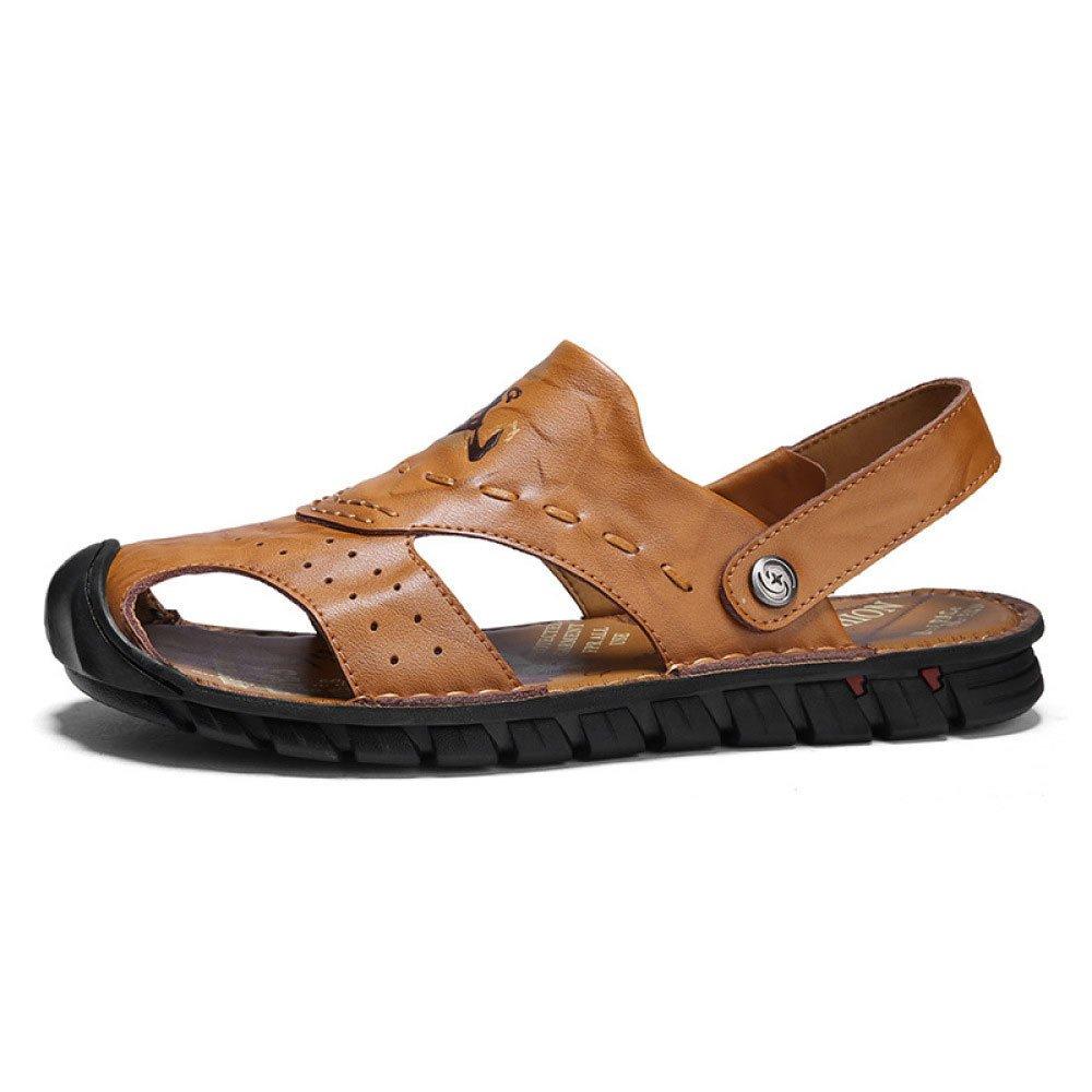 Sommer Männer Strand Schuhe Casual Rutschfeste Sandalen Männer Sommer Jugend Coole Hausschuhe Yellow d737dc