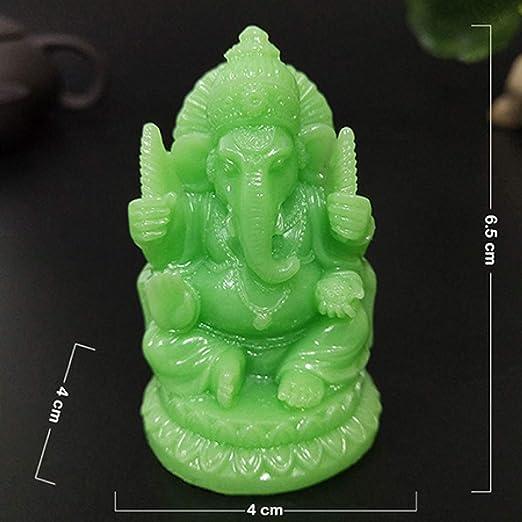 MAIAMY Budismo Luminoso Estatua Elefante Dios Buda Esculturas Jardín de Resina Decoración del hogar Figuras: Amazon.es: Jardín