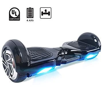 Windgoo Hoverboard 6,5 Pouces,Overboard 700W Self Balance Board avec LED  Smart Scooter 64041dc6dd32