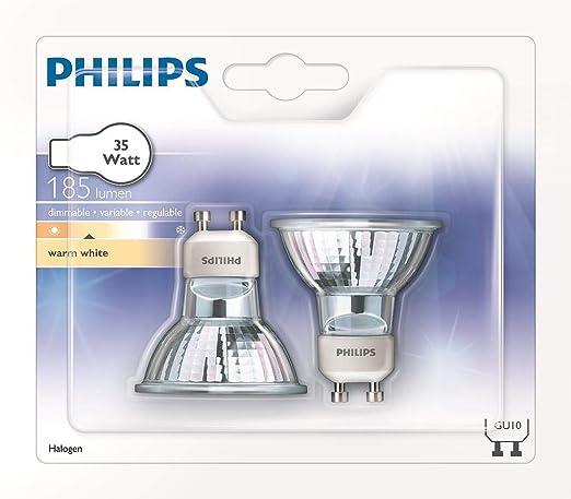 Blanco Philips Lámpara35 35w Cálido Gu10 D 8727900252545 W OikXPZu
