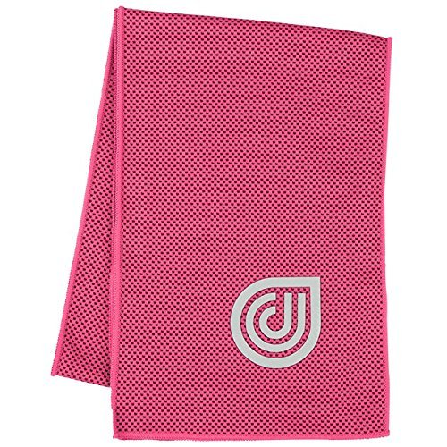 Dr. Cool Instant Chill Lightweight Sports and Fitness Cooling Towel, 15' x 36'