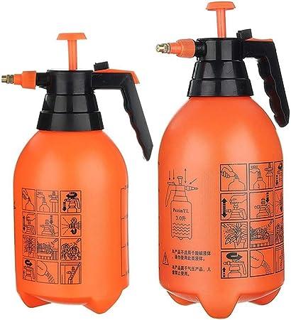 3L Botella de pulverización de jardín a presión Pulverizador químico Pulverizador de Mano Planta Flores Riego de riego Herramienta de pulverizador: Amazon.es: Hogar
