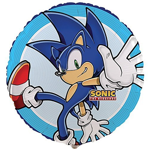 BirthdayExpress Sonic The Hedgehog Foil Balloon (2)]()
