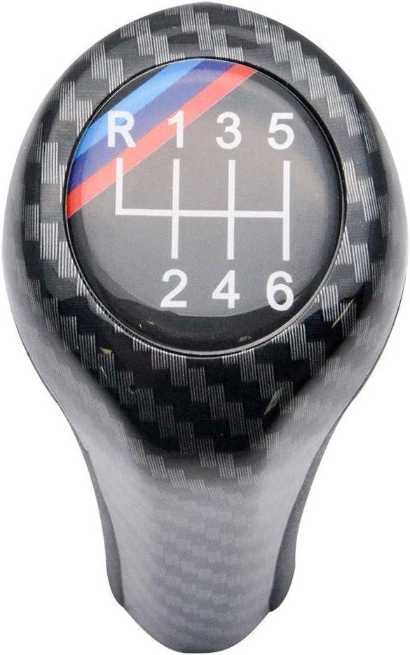 MASO Pomo de Palanca de Cambios de 6 velocidades para BMW M Sport E36 E46 E90 E91 E92 E93 E61
