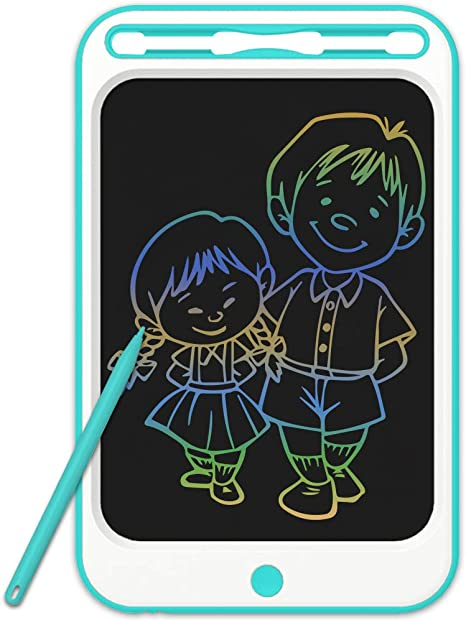 LCD Writing Tablet Electronic Writing Drawing Doodle Board Erasable 8.5//10//12 Inch Handwriting Paper Drawing Tablet for Kids Adults at Home School Office,Pink,10inch