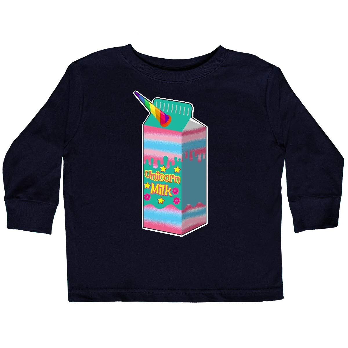 inktastic Unicorn Milk Cute Girls Toddler Long Sleeve T-Shirt